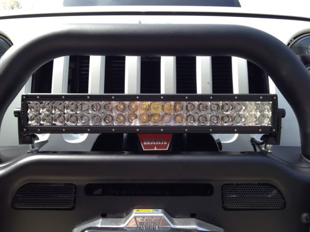 Mounting option for a led light bar american expedition vehicles click image for larger version name 8cab1e4fg views 1 size 478 aloadofball Image collections