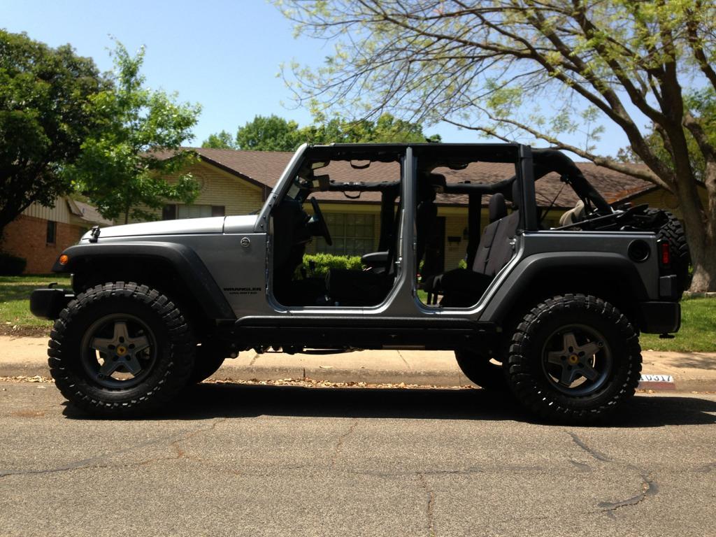 2012 Jeep Wrangler 4 Door No doors , no top - post your pic's - Page 6 - American ...