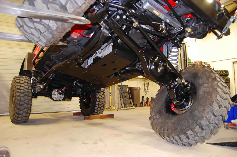 American Expedition Vehicles >> Sema 2008 sneak peek - portal axle brute - American ...