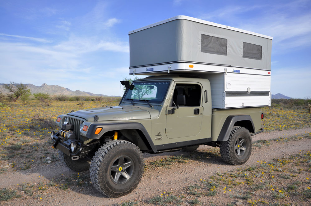 Brute With Four Wheel Camper Pictures American