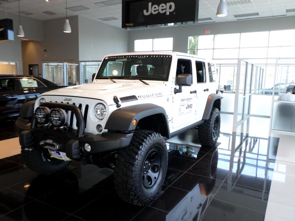 2014 white rubicon jk350 american expedition vehicles for Don johnson motors brownsville