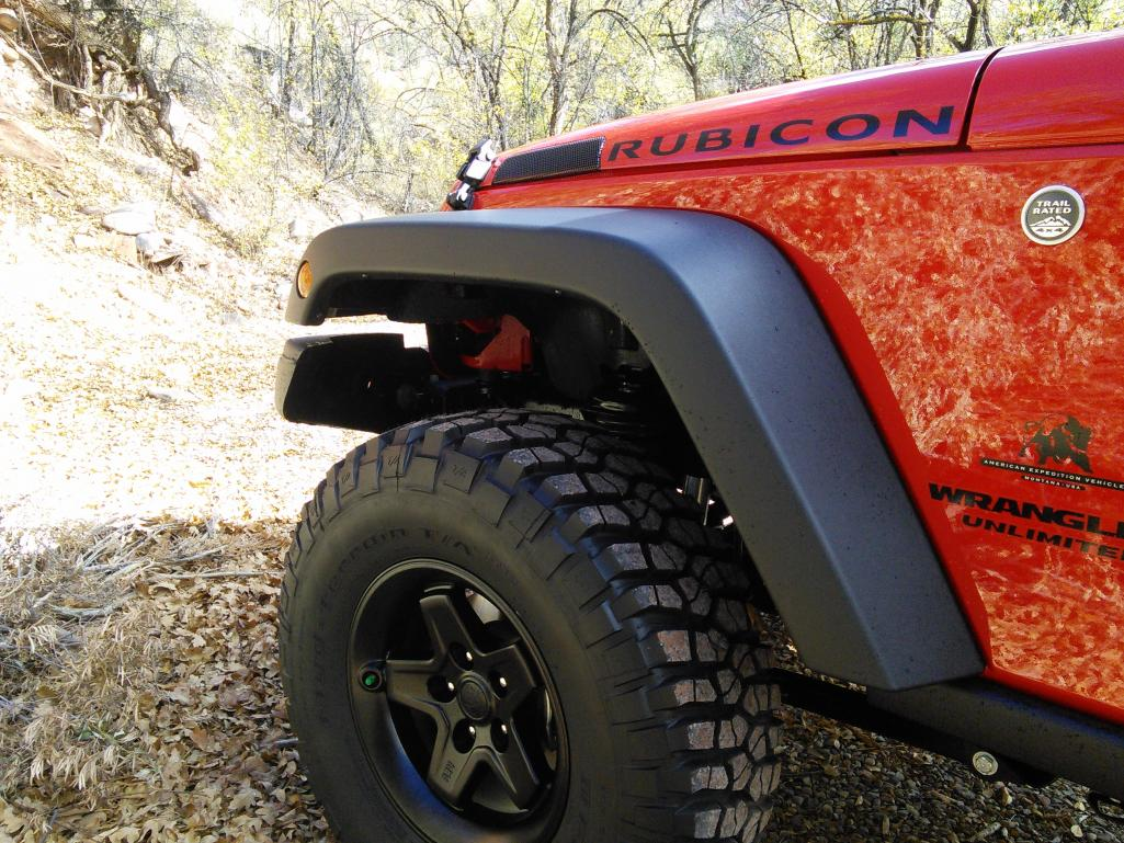2016 Jeep Rubicon Firecracker Red Jk350 Build American