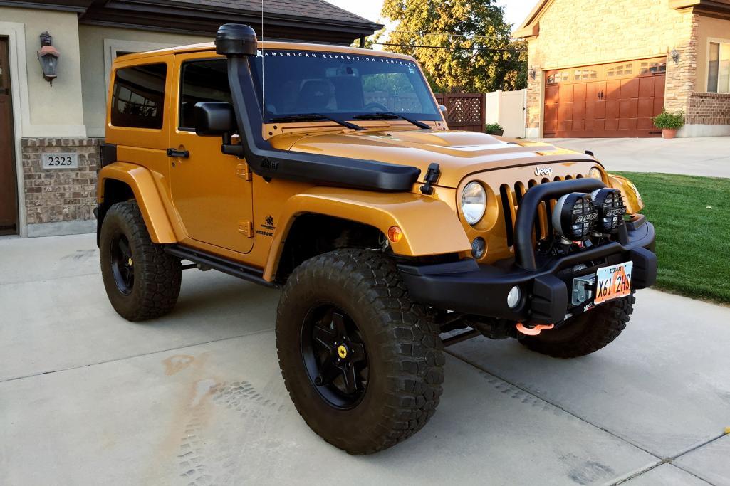 Jeep Wrangler Rubicon D Cab Brute 36l